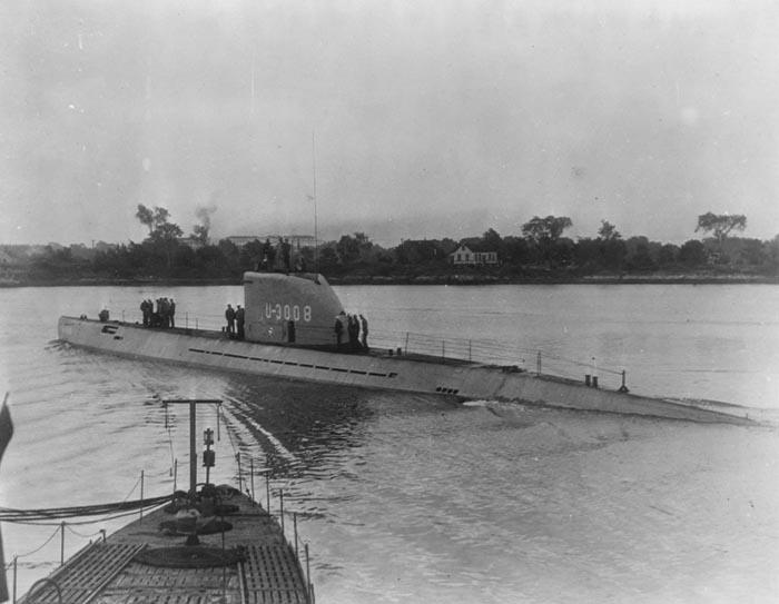 немецкая лодка xxi серии