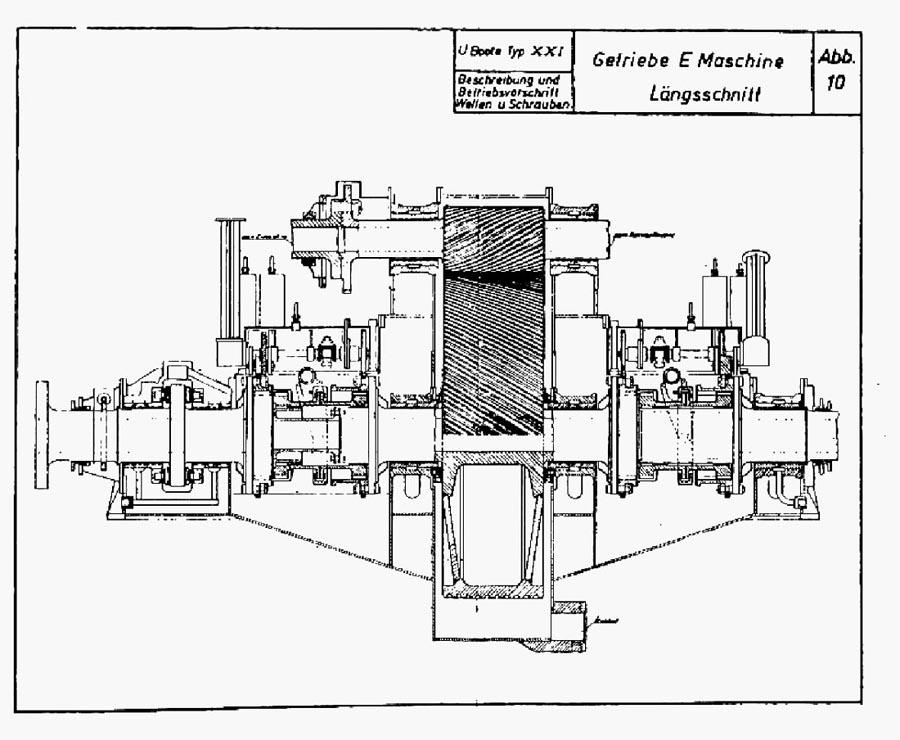 U Boat Archive Design Studies Type Xxi