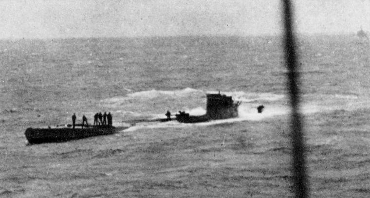 الغواصة النازية U-110..والفيلم الامريكى U-571 ..! U-110Capture1